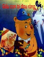 Truyện : Gấu con bị đau răng