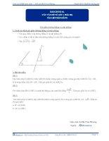 Tài liệu bài giảng các vấn đề về góc p3