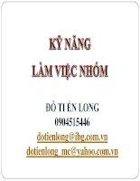 KY NANG LAM VIEC NHOM