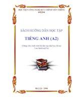 Sách hướng dẫn học tập tiếng Anh