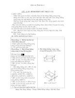 Tiết 56- Bài 2: Hình hộp chữ nhật(tt)