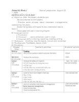 giáo án tiếng anh 6( tiết 1 đến tiết8)- xem- góp ý