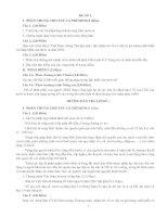Đề luyện tập ôn thi TNPT (có đáp án)