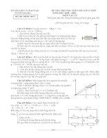 Đề thi HSG Vật lí Tuyên Quang 08-09