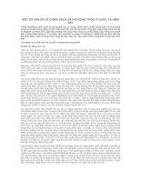MỘT SỐ VẤN ĐỀ VỀ CHÍNH SÁCH XÃ HỘI NÔNG THÔN Ở NƯỚC TA HIỆN NAY