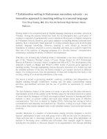 7 colaborative writing in vietnamese secondary schools