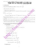 Chuyên đề hay và khó về dòng điện xoay chiều