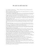 10 cách từ chối khéo léo