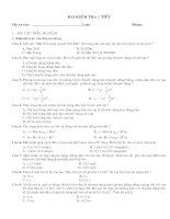 kiểm tra 1 tiết chương 1(cb có đáp án)