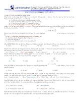 Bài tập dao động cơ học theo hay kèm đáp án