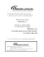 Bài giảng: Phép vị tự (Hình học 12 - Chương I: KHỐI ĐA DIỆN)