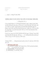 THÔNG BÁO TUYỂN SINH VÀO LỚP 10 NĂM HỌC 2009-2010_so 2 chung_