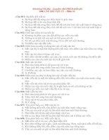 1000 câu hỏi trac nghiem VL ôn thi vào ĐHCĐ Phần 10.doc