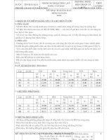 Kế hoạch giảng dạy môn vật lí 8