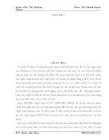 THỰC TRẠNG CHO VAY TIÊU DÙNG TẠI PGD ĐỒNG TÂM- NHTMCP NAM Á