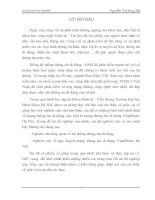 Nghiên cứu về quy hoạch mạng thông tin di động VinaPhone Hà Nội