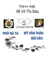 Tình hình hoạt động sản xuất kinh doanh của công ty cổ phần thương mại và phát triển viễn thông Việt  Trung