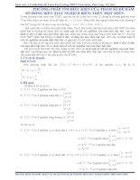 Không dùng định lý đảo cũng tìm được điều kiện của tham số để hàm số đơn điệu trên một miền