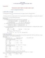 Tổng hợp 34 chuyên đề bồi dưỡng hóa học THCS