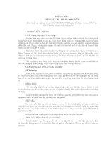 Hướng dẫn chỉnh lý tài liệu hành chính