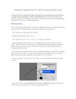 Hướng dẫn sử dụng photoshop CS5   phần 12 tạo hiệu ứng light và glow