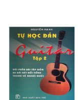 Tự học đánh đàn guitar tập 2 part 1