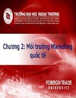 Môi trường marketing quốc tế