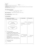 Giáo án tự chọn AV 7 HK II