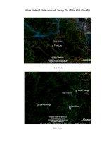 Hình ảnh vệ tinh của các tỉnh Trung Du Miền núi phía Bắc.