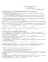 15 đề THI THỬ môn vật lý   đề số 3