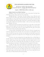 Bộ Câu hỏi  và đáp án cuộc thi tìm hiểu Công đoàn Việt nam – 80 năm, Một chặng đường lịch sử