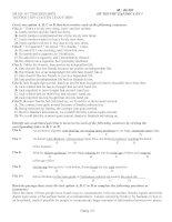 đề thi khảo sát chất lượng lần I môn lý lớp 12 Môn tiếng anh