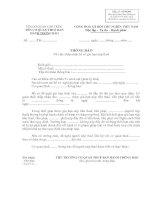 THÔNG BÁO Về việc chấp nhận hồ sơ gia hạn nộp thuế