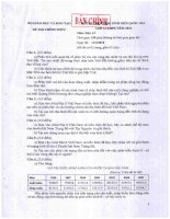 ĐỀ THI CHỌN HỌC SINH GIỎI QUỐC GIA LỚP 12 THPT NĂM 2010 MÔN ĐỊA LÍ