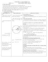 Giáo án 12 cơ bản - HKI