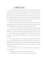 ĐÁNH GIÁ NHẬN XÉT VỀ HOẠT ĐỘNG VĂN PHÒNG XÍ NGHIỆP MÔI TRƯỜNG ĐÔ THỊ SỐ 4