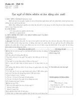 GIÁO ÁN NGỮ VĂN 7 KÌ II (08-09)