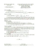 ĐỀ THI TUYỂN SINH LỚP 10 THPT CHUYÊN NGUYỄN TRÃI NĂM HỌC 2013-2014 MÔN TOÁN CHUNG TỈNH HẢI DƯƠNG