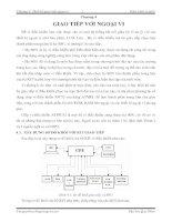 Chương 4  thiết kế giao tiếp ngoại vi giáo trình vi xử lý