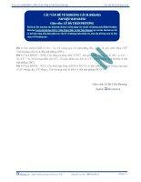 Tài liệu bài giảng các vấn đề về khoảng cách p2