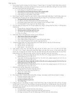 Bài tập ôn quản trị mạng