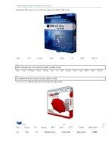 Tuyển tập Serial&Keygen cho Antiviruts