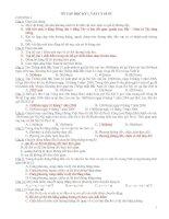 144 câu hỏi ôn tập môn vật lý 10 nâng cao
