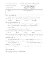 đề kiểm tra HKII toán 6