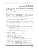 TIÊU CHUẨN VIỆT NAM TCVN 4453 :1995 về hướng dẫn thi công