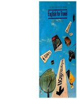 English for travel - John Eastwood - Oxford University Press