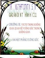 Bai 4 Hai mat phang vuong goc (tiet 2)