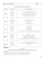 Giáo án khối 4 tuần 4