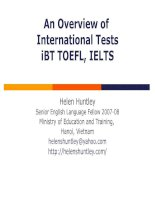 Overview of International Tests