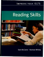 Improve your IELTS Reading skills part 1
